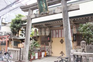 梅田堂山-綱敷天神社