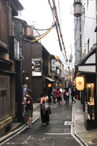 京都スポット-先斗町